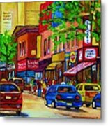 Saint Lawrence Street  Metal Print