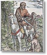 Saint Martin (c316-397) Metal Print