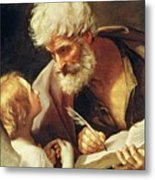 Saint Matthew Metal Print