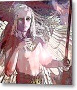 Saint Michael Doll 2 Metal Print