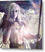 Saint Michael Doll Metal Print