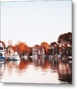 Saint Michael's Harbor Metal Print by Bill Cannon