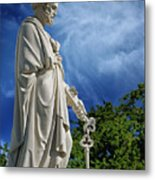 Saint Peter With Keys To Heaven Metal Print