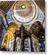 Saint Peter's Basilica II Metal Print