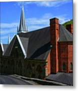 Saint Peters Roman Catholic Church In Harpers Ferry West Virginia Metal Print