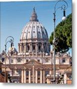 Saint Peter's Tomb Metal Print