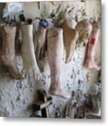 Saint Roch Legs And Feet Metal Print