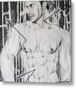 Saint Sebastian  2 Metal Print