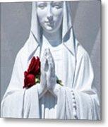 Saint Virgin Mary Statue #1 Metal Print