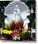 Saint Virgin Mary Statue #2 Metal Print