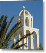 Saintorini A Testiment Of Time Metal Print