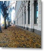 Autumn In Salem Metal Print
