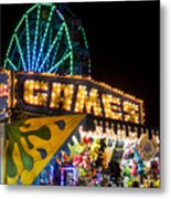Salem Ma Halloween Carnival Games Booth Metal Print
