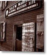Salem Maritime Metal Print