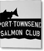 Salmon Club Metal Print