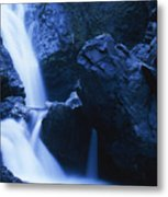 Salmon Creek Falls Metal Print