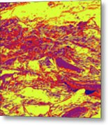Salmon Run 6 Metal Print