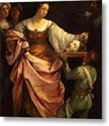 Salome With The Head Of St John Baptist 1640 Metal Print