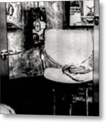 Salon Metal Print