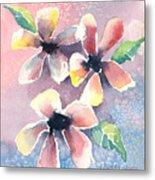 Salt Flowers Metal Print