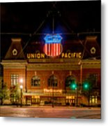Salt Lake City Union Pacific Depot Metal Print