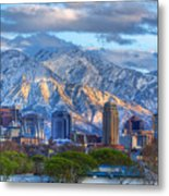 Salt Lake City Utah Usa Metal Print