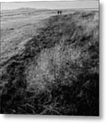 Salt Lake Walk  Metal Print