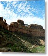 Salt River Canyon Arizona Metal Print