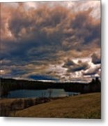 Saltmarsh Pond Gilford Nh Metal Print