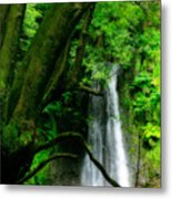 Salto Do Prego Waterfall Metal Print