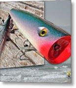 Saltwater Fishing Metal Print