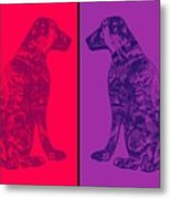 Salty Dogs Metal Print