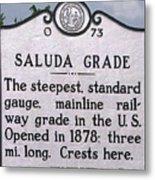 Saluda Grade Metal Print