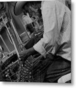 Salvadorean Handcrafter 1 Metal Print