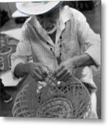 Salvadorean Handcrafter Metal Print
