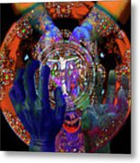 Salvation Within Solar Light Metal Print