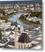 Salzburg Metal Print by Andre Goncalves