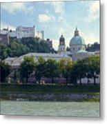 Salzburg City View Five Metal Print