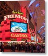 Sam Boyds Fremont Casino Metal Print