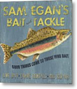 Sam Egan's Bait And Tackle Metal Print