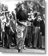 Sam Snead 1912-2002, American Golfer Metal Print by Everett