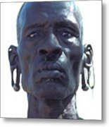 Samburu Warrior In Kenya Metal Print