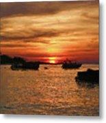 Samed Island Sunrise Metal Print