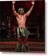 Samoan Warrior Metal Print
