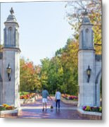 Sample Gates At University Of Indiana Metal Print