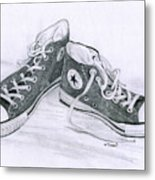 Sam's Shoes Metal Print