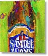 Samuel Adams Boston Ale Metal Print