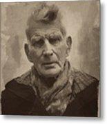 Samuel Beckett 2 Metal Print