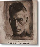 Samuel Beckett 01 Metal Print