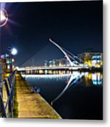 Samuel Beckett Bridge 2 Metal Print